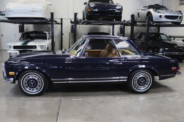 Used 1971 MERCEDES BENZ 280SL for sale Sold at San Francisco Sports Cars in San Carlos CA 94070 4