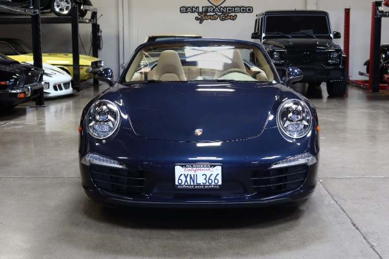 Used 2013 Porsche 911 Carrera for sale Sold at San Francisco Sports Cars in San Carlos CA 94070 2