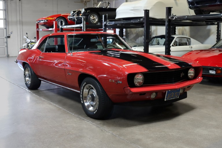 Used 1969 CHEVROLET CAMARO Z/28 Z/28 for sale Sold at San Francisco Sports Cars in San Carlos CA 94070 1