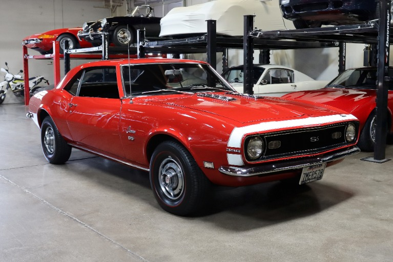 Used 1968 CHEVROLET CAMARO SS396 SS for sale $59,995 at San Francisco Sports Cars in San Carlos CA
