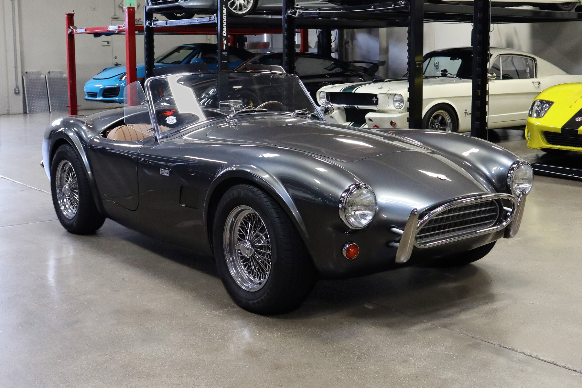 Used 2019 Superformance Slab Side Cobra for sale $89,995 at San Francisco Sports Cars in San Carlos CA 94070 1