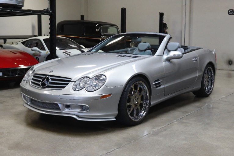 Used 2003 Mercedes-Benz SL-Class SL 500 for sale Sold at San Francisco Sports Cars in San Carlos CA 94070 3