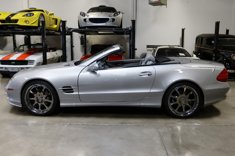 Used 2003 Mercedes-Benz SL-Class SL 500 for sale Sold at San Francisco Sports Cars in San Carlos CA 94070 4