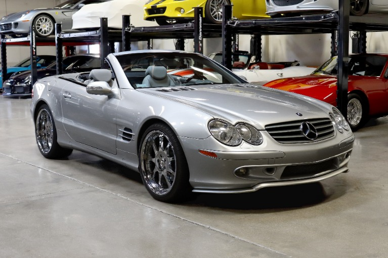 Used 2003 Mercedes-Benz SL-Class SL 500 for sale Sold at San Francisco Sports Cars in San Carlos CA 94070 1