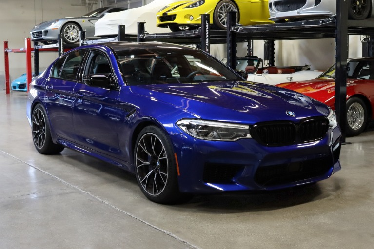 Used 2020 BMW M5 Competition for sale $102,995 at San Francisco Sports Cars in San Carlos CA 94070 1