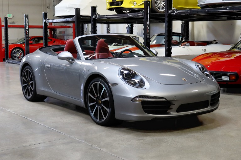Used 2016 Porsche 911 Cabriolet for sale $84,995 at San Francisco Sports Cars in San Carlos CA