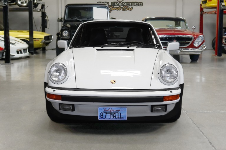 Used 1987 Porsche 930 Turbo Carrera Turbo for sale Sold at San Francisco Sports Cars in San Carlos CA 94070 2