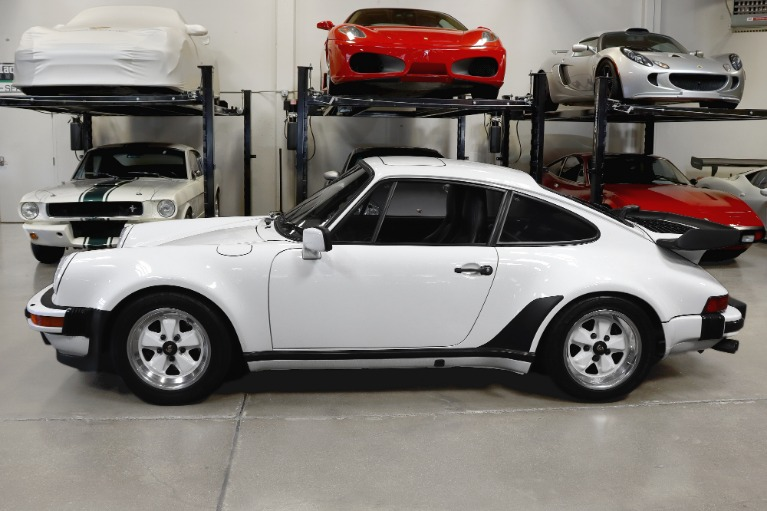 Used 1987 Porsche 930 Turbo Carrera Turbo for sale Sold at San Francisco Sports Cars in San Carlos CA 94070 4
