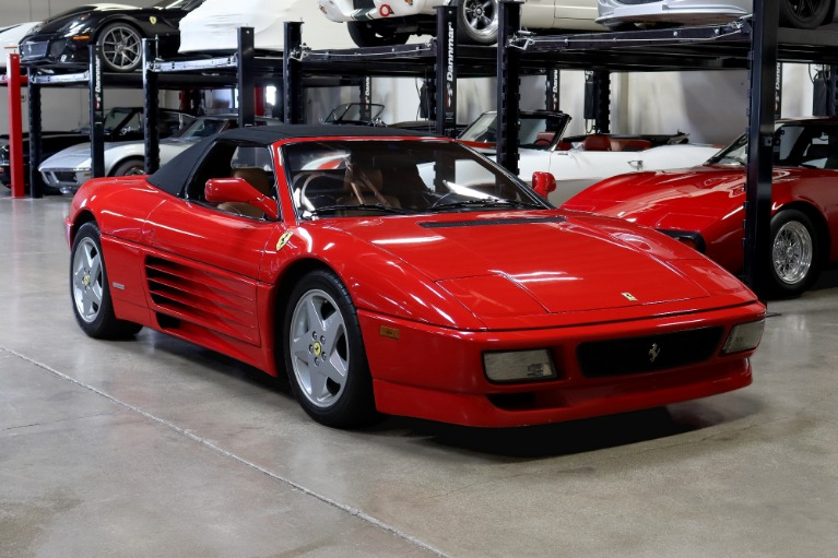 Used 1994 Ferrari 348 Spider for sale Sold at San Francisco Sports Cars in San Carlos CA 94070 1