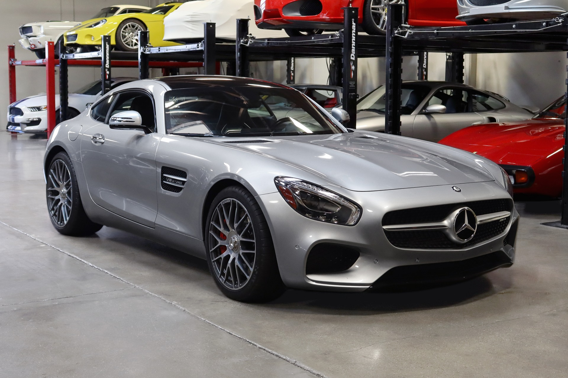 Used 2016 Mercedes-Benz AMG GTS S for sale $84,995 at San Francisco Sports Cars in San Carlos CA 94070 1