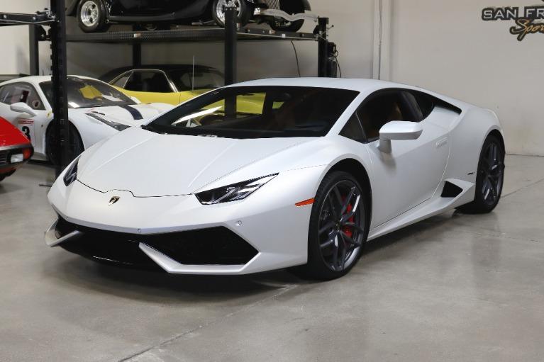 Used 2016 Lamborghini Huracan LP 610-4 for sale Sold at San Francisco Sports Cars in San Carlos CA 94070 3