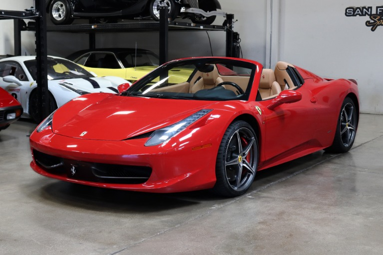 Used 2013 Ferrari 458 Spider for sale $199,995 at San Francisco Sports Cars in San Carlos CA 94070 3