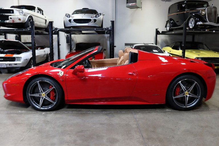Used 2013 Ferrari 458 Spider for sale $199,995 at San Francisco Sports Cars in San Carlos CA 94070 4