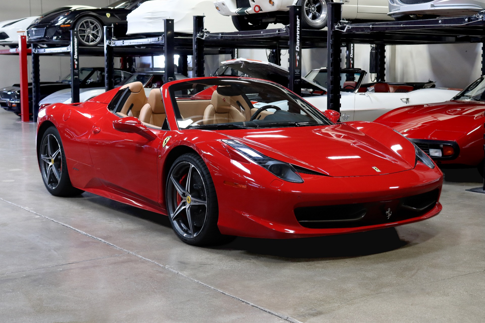 Used 2013 Ferrari 458 Spider for sale $199,995 at San Francisco Sports Cars in San Carlos CA 94070 1