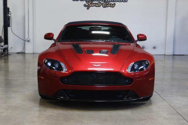 Used 2015 Aston Martin V12 Vantage S Roadster for sale $99,995 at San Francisco Sports Cars in San Carlos CA 94070 2
