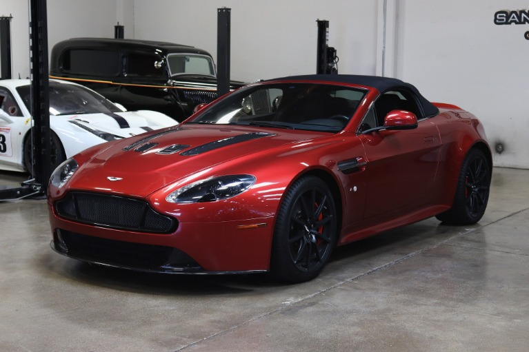 Used 2015 Aston Martin V12 Vantage S Roadster for sale $99,995 at San Francisco Sports Cars in San Carlos CA 94070 3