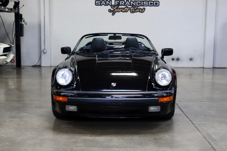 Used 1989 Porsche 911 Carrera Speedster for sale $164,995 at San Francisco Sports Cars in San Carlos CA 94070 2