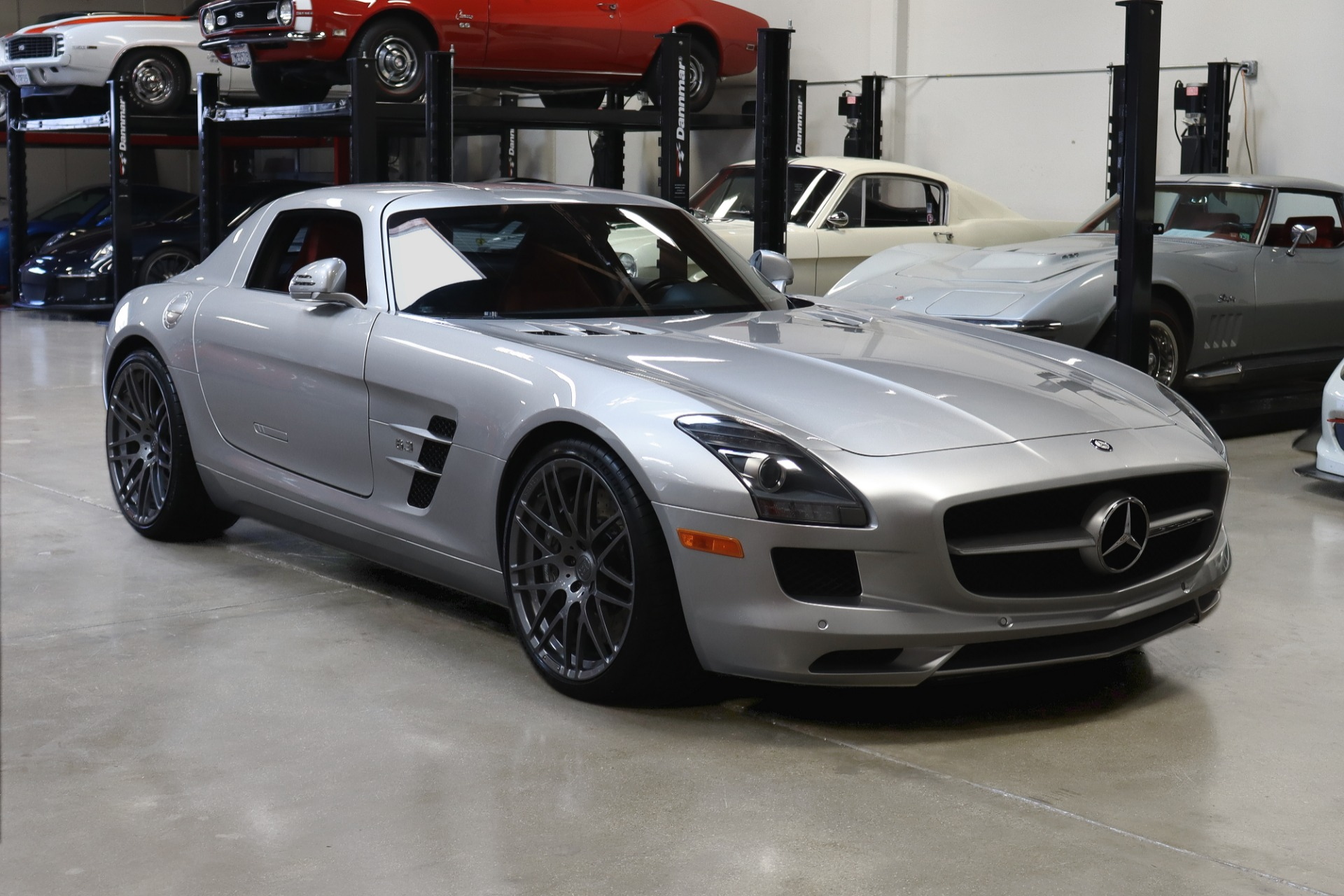 Used 2011 Mercedes-Benz SLS AMG for sale Sold at San Francisco Sports Cars in San Carlos CA 94070 1