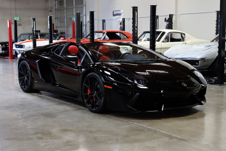 Used 2015 Lamborghini Aventador LP 700-4 for sale Sold at San Francisco Sports Cars in San Carlos CA 94070 1
