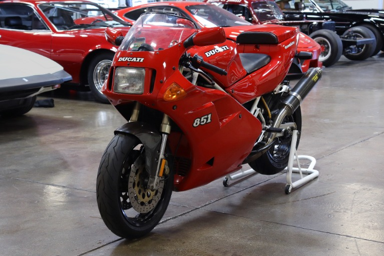 Used 1992 Ducati 851 for sale $12,995 at San Francisco Sports Cars in San Carlos CA 94070 3
