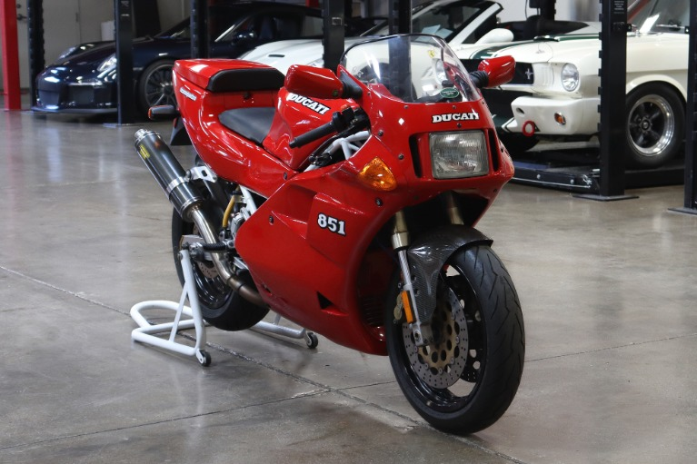 Used 1992 DUCATI 851 for sale $12,995 at San Francisco Sports Cars in San Carlos CA