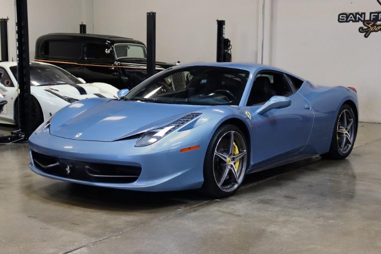 Used 2012 Ferrari 458 Italia for sale $152,995 at San Francisco Sports Cars in San Carlos CA 94070 3