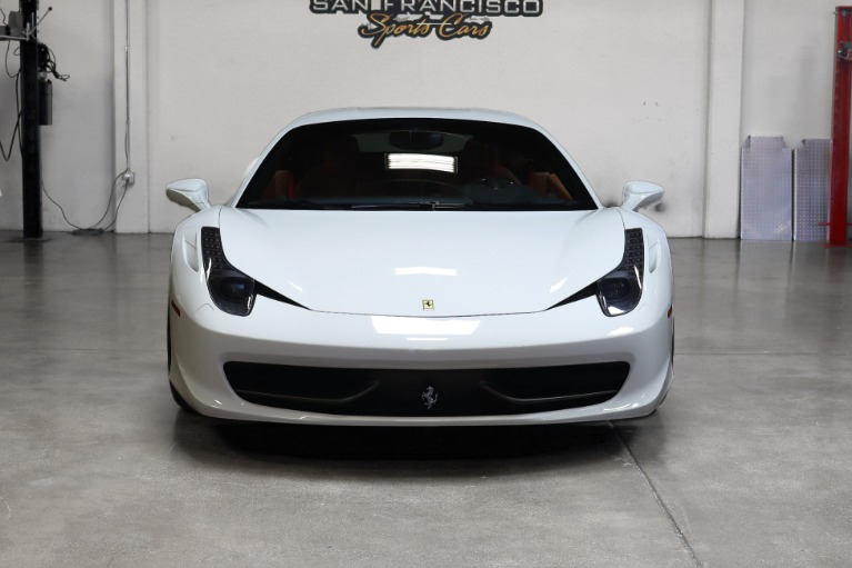 Used 2012 Ferrari 458 Italia for sale $184,995 at San Francisco Sports Cars in San Carlos CA 94070 2