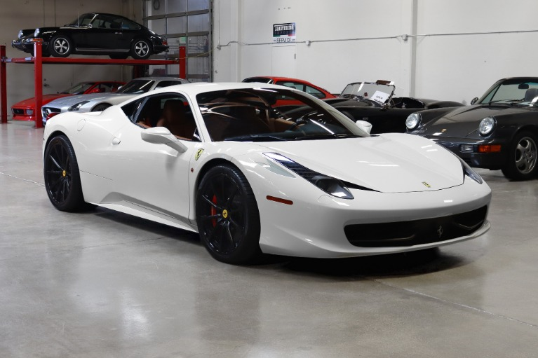 Used 2012 Ferrari 458 Italia for sale $189,995 at San Francisco Sports Cars in San Carlos CA