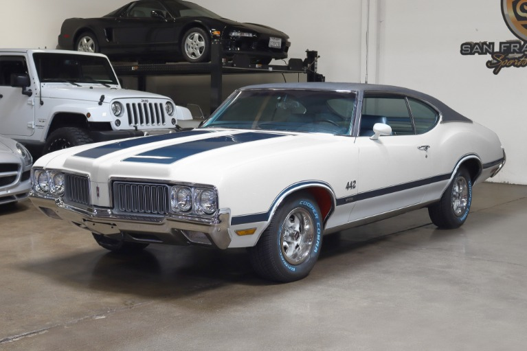 Used 1970 Oldsmobile Cutlass 442 W-30 Tribute for sale Sold at San Francisco Sports Cars in San Carlos CA 94070 3