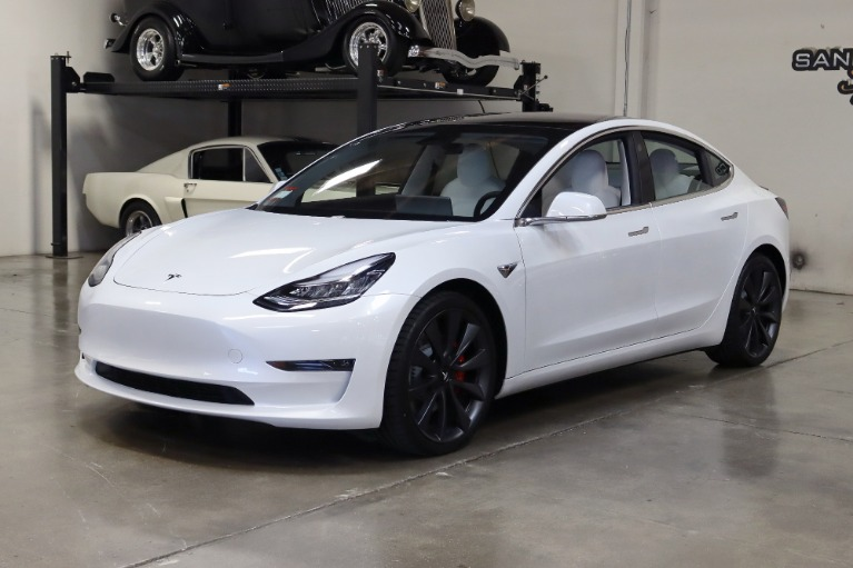 Used 2020 Tesla Model 3 Performance for sale Sold at San Francisco Sports Cars in San Carlos CA 94070 3