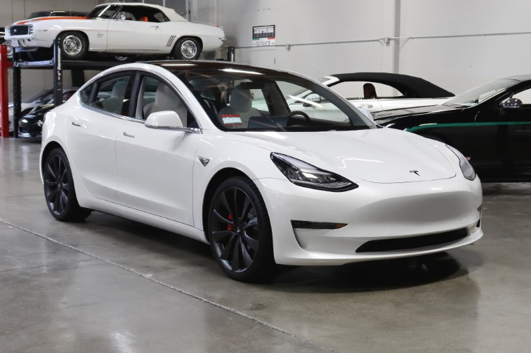 Used 2020 Tesla Model 3 Performance for sale $53,495 at San Francisco Sports Cars in San Carlos CA