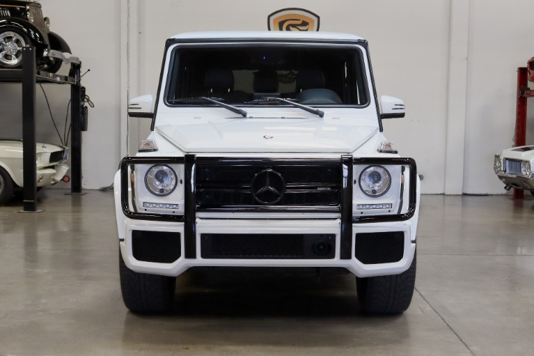 Used 2017 Mercedes-Benz G-Class AMG G 63 for sale $109,995 at San Francisco Sports Cars in San Carlos CA 94070 2