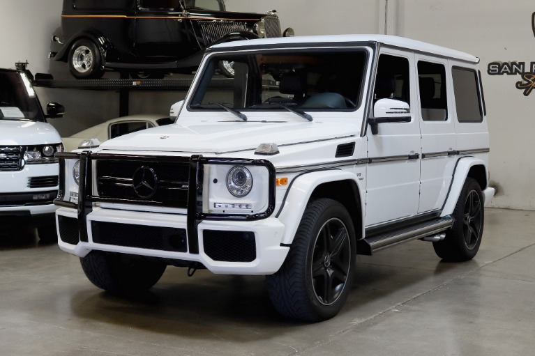 Used 2017 Mercedes-Benz G-Class AMG G 63 for sale $109,995 at San Francisco Sports Cars in San Carlos CA 94070 3