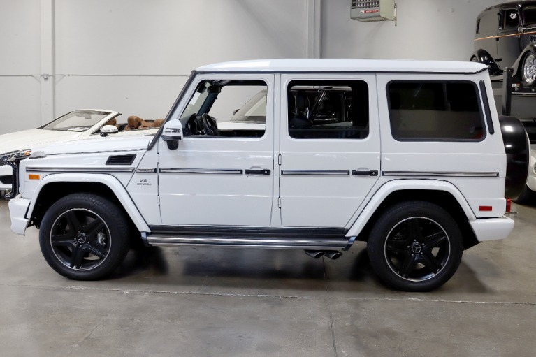 Used 2017 Mercedes-Benz G-Class AMG G 63 for sale $109,995 at San Francisco Sports Cars in San Carlos CA 94070 4