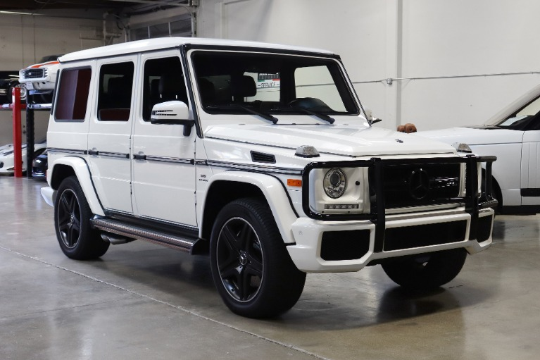 Used 2017 Mercedes-Benz G-Class AMG G 63 for sale $109,995 at San Francisco Sports Cars in San Carlos CA