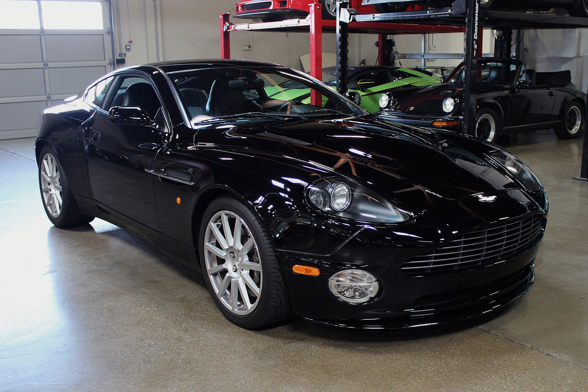 Used 2005 Aston Martin Vanquish S for sale Sold at San Francisco Sports Cars in San Carlos CA 94070 1
