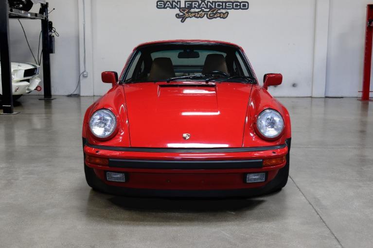 Used 1988 Porsche 911 Carrera Turbo for sale $149,995 at San Francisco Sports Cars in San Carlos CA 94070 2