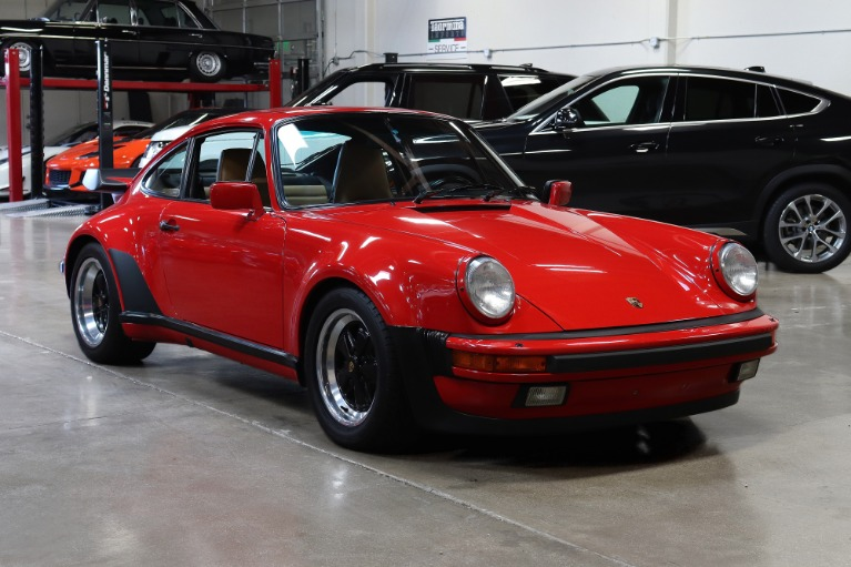Used 1988 Porsche 911 Carrera Turbo for sale $149,995 at San Francisco Sports Cars in San Carlos CA