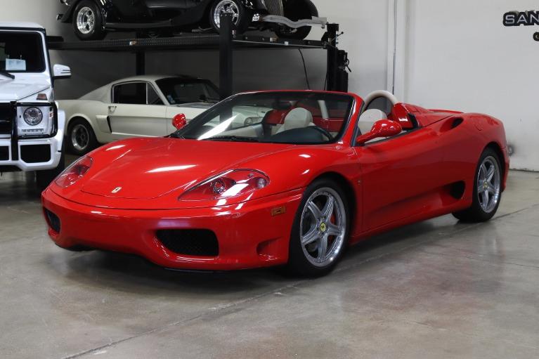 Used 2004 Ferrari 360 Spider for sale $89,995 at San Francisco Sports Cars in San Carlos CA 94070 3