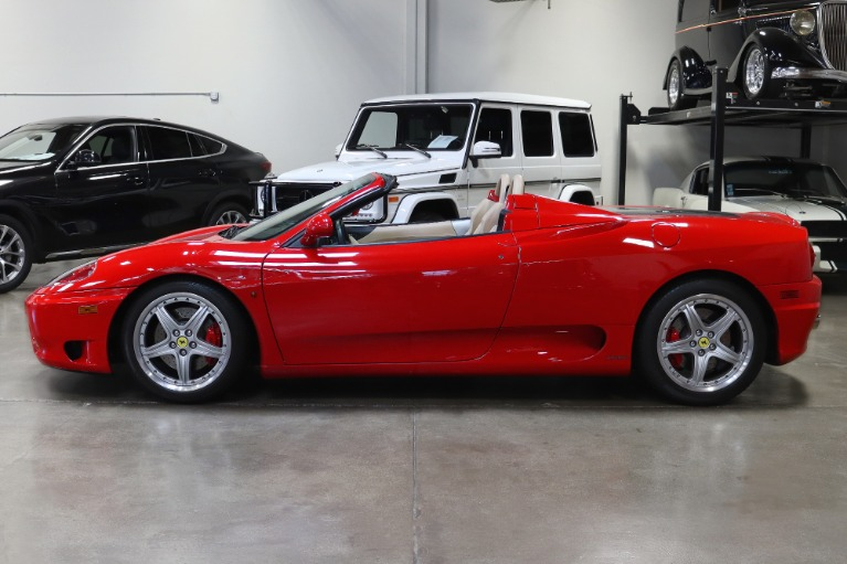 Used 2004 Ferrari 360 Spider for sale $89,995 at San Francisco Sports Cars in San Carlos CA 94070 4