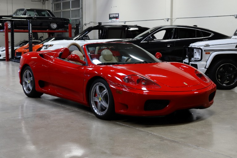 Used 2004 Ferrari 360 Spider for sale $89,995 at San Francisco Sports Cars in San Carlos CA