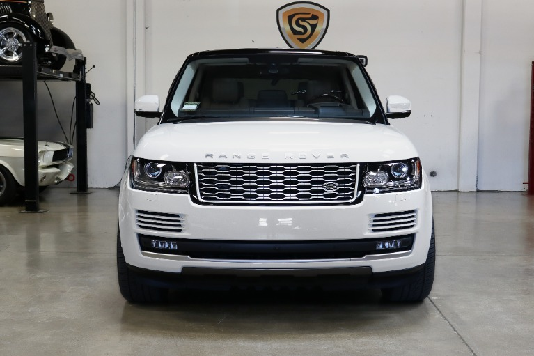 Used 2016 Land Rover Range Rover HSE for sale Sold at San Francisco Sports Cars in San Carlos CA 94070 2