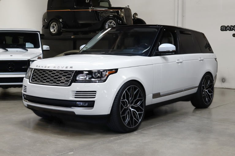 Used 2016 Land Rover Range Rover HSE for sale Sold at San Francisco Sports Cars in San Carlos CA 94070 3