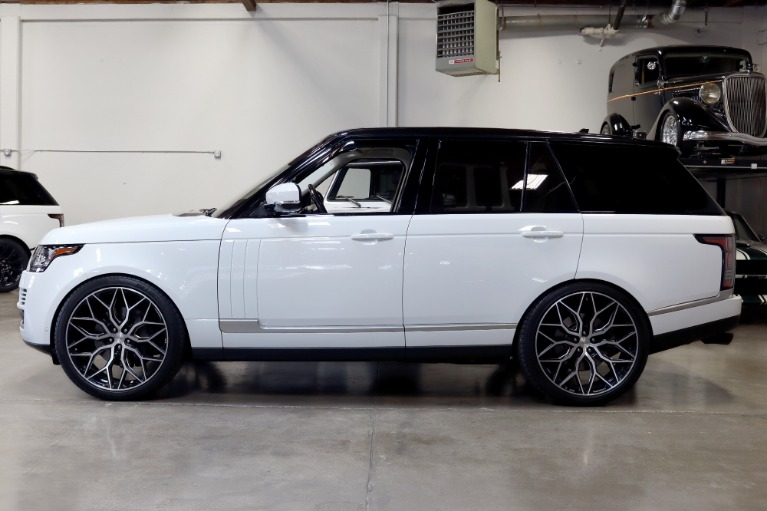 Used 2016 Land Rover Range Rover HSE for sale Sold at San Francisco Sports Cars in San Carlos CA 94070 4