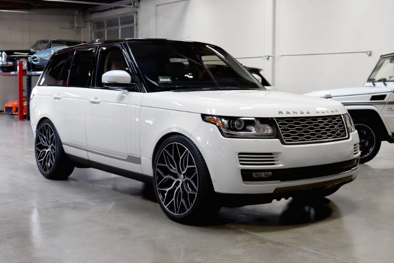 Used 2016 Land Rover Range Rover HSE for sale $61,988 at San Francisco Sports Cars in San Carlos CA