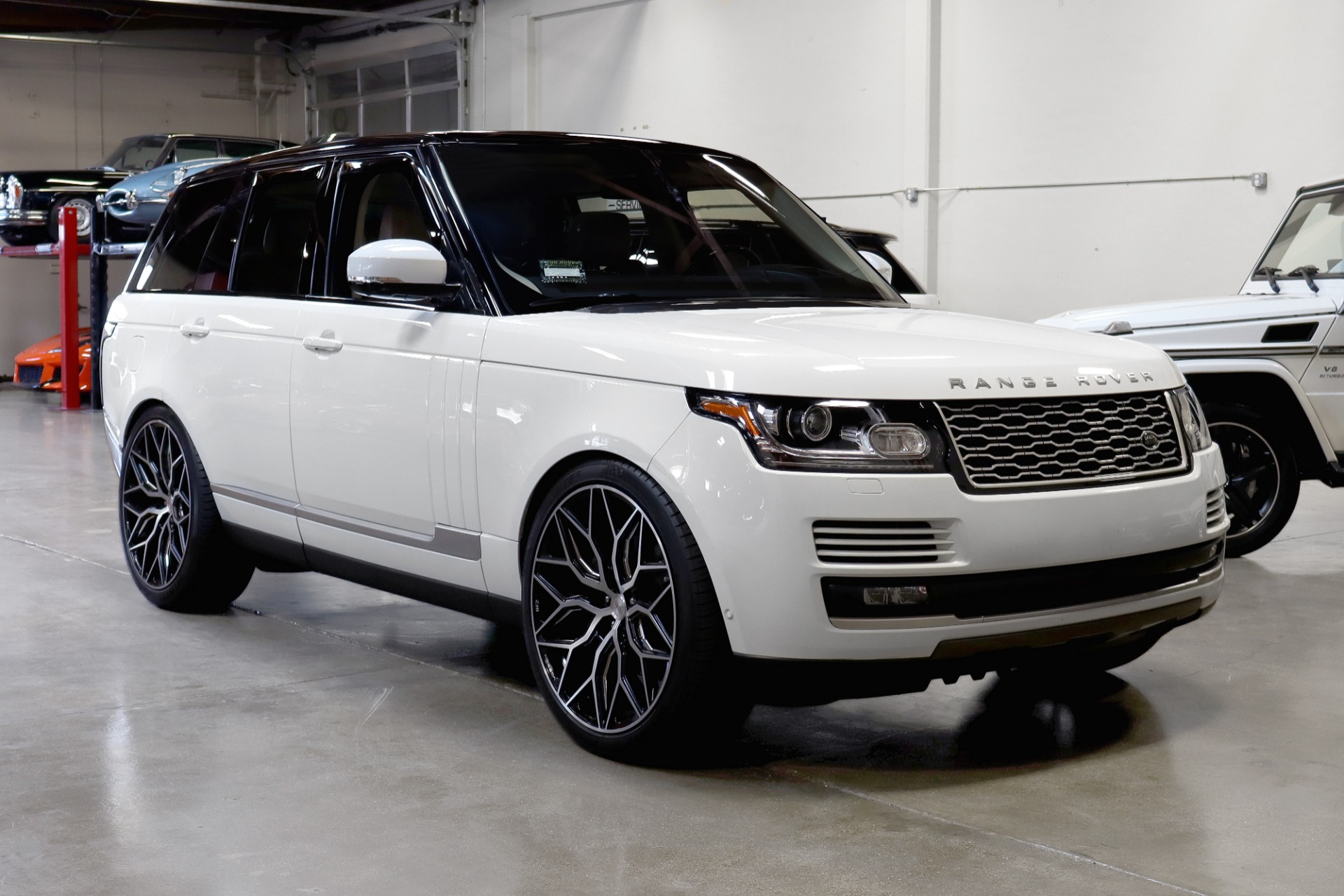Used 2016 Land Rover Range Rover HSE for sale Sold at San Francisco Sports Cars in San Carlos CA 94070 1