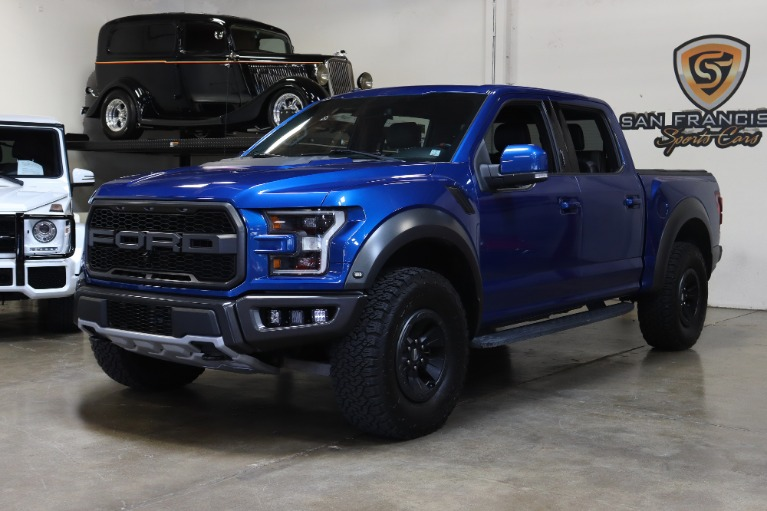Used 2018 Ford F-150 Raptor for sale Sold at San Francisco Sports Cars in San Carlos CA 94070 3
