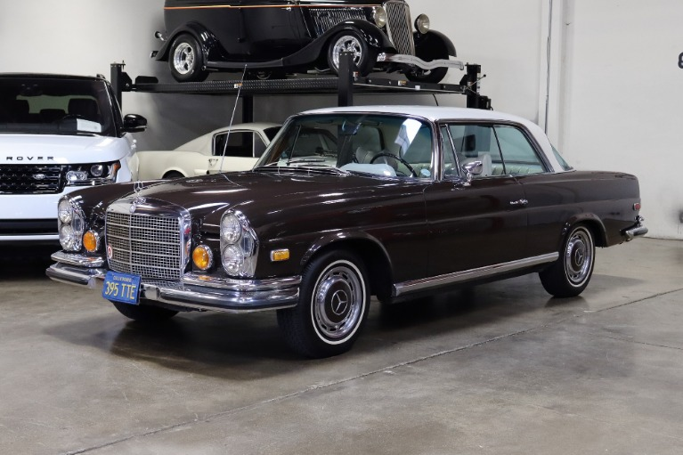 Used 1971 Mercedes-Benz 280SE 3.5 for sale Sold at San Francisco Sports Cars in San Carlos CA 94070 3