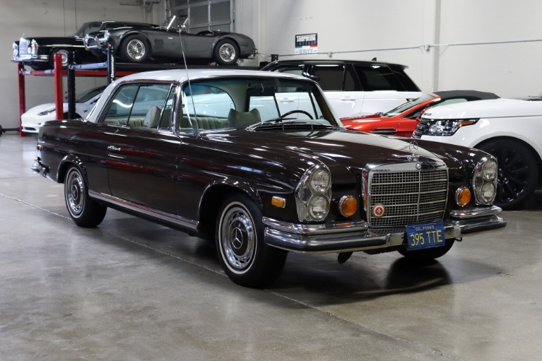 Used 1971 Mercedes-Benz 280SE 3.5 for sale $69,995 at San Francisco Sports Cars in San Carlos CA